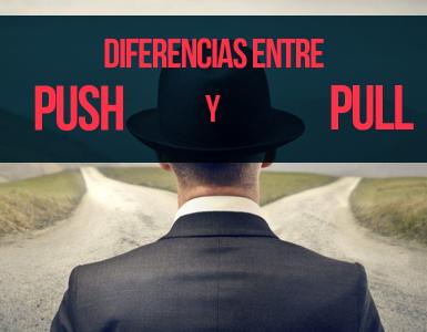 diferencias entre push y pull